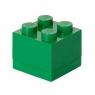 LEGO, Minipudełko klocek 4 - Zielone (40111734)
